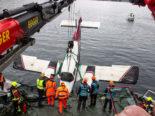Altenrhein SG: Flugzeug aus Bodensee geborgen