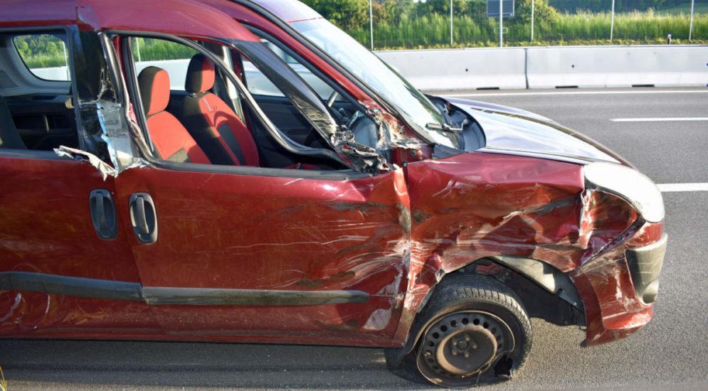 A2 Dagmersellen LU - Unfall mit grossem Sachschaden