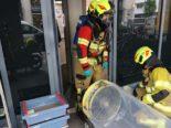 Zug: Chemiewehr wegen ausgelaufener Ameisensäure im Einsatz