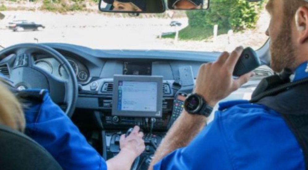 Schwyzerbrugg: Führerausweis weg, Autos sichergestellt