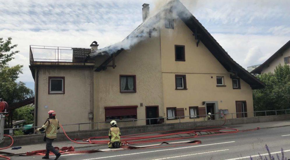 Rapperswil-Jona SG: Zwei Polizisten verhindern Schlimmeres
