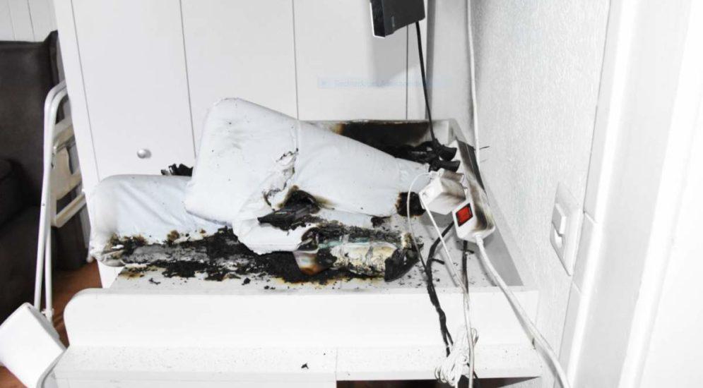 Mottbrand in Goldach SG - Mann und Kind (4) aus Wohnung gerettet