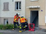 St.Gallen SG - Verpuffung in Wohnung: 22-Jähriger verletzt