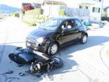 Heerbrugg SG: 17-jährige Rollerfahrerin nach Unfall verletzt