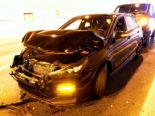 A2 Unfall Eich LU: Vier involvierte Autos und eine verletzte Person