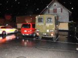 Unfall Rüthi SG: Fahrunfähiger Mann touchiert Militärfahrzeug