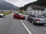Thusis GR: Ein Verletzter bei Unfall zwischen zwei Autos