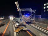 Unfall A1 Winterthur ZH: Lenker mittelschwer verletzt