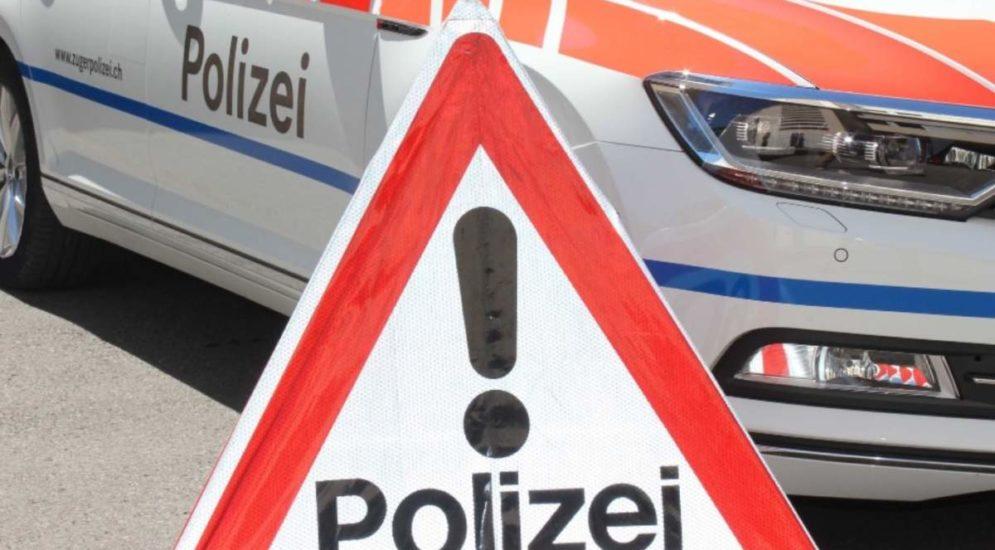 Zug: Velofahrer erleidet Kieferbruch nach Streit mit Autolenker