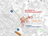 Uster ZH: Neue Verkehrsführung um Feldhofstrasse ab Montag