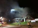 Givisiez FR: 18 Bewohner evakuiert bei Brand eines Betriebes