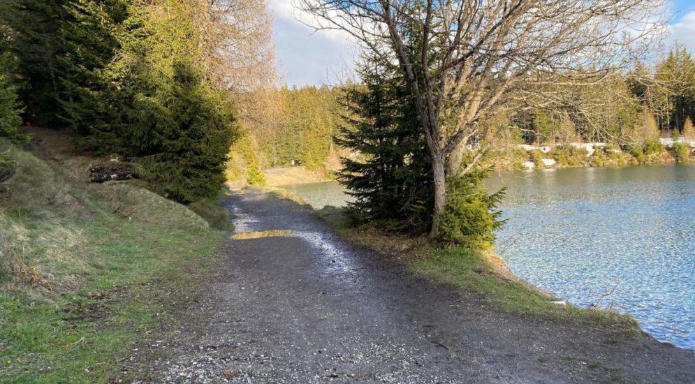 Tragödie in Crans-Montana VS: Mann ertrinkt in Bergsee