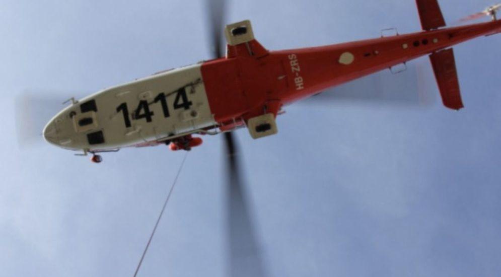 Süderen BE: Schwer Verletzte nach Unfall mit Helikopter ins Spital gebracht
