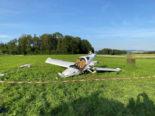 Lupfig AG: Kleinflugzeug abgestürzt - Pilot schwer verletzt