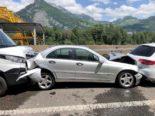 Unfall A3 Filzbach GL: Crash zwischen vier Autos