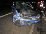 Bilten GL: Unfall auf der A3 wegen eines Sekundenschlafs