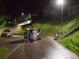 Herisau AR: Totalschaden nach Unfall eines betrunkenen Fahrers