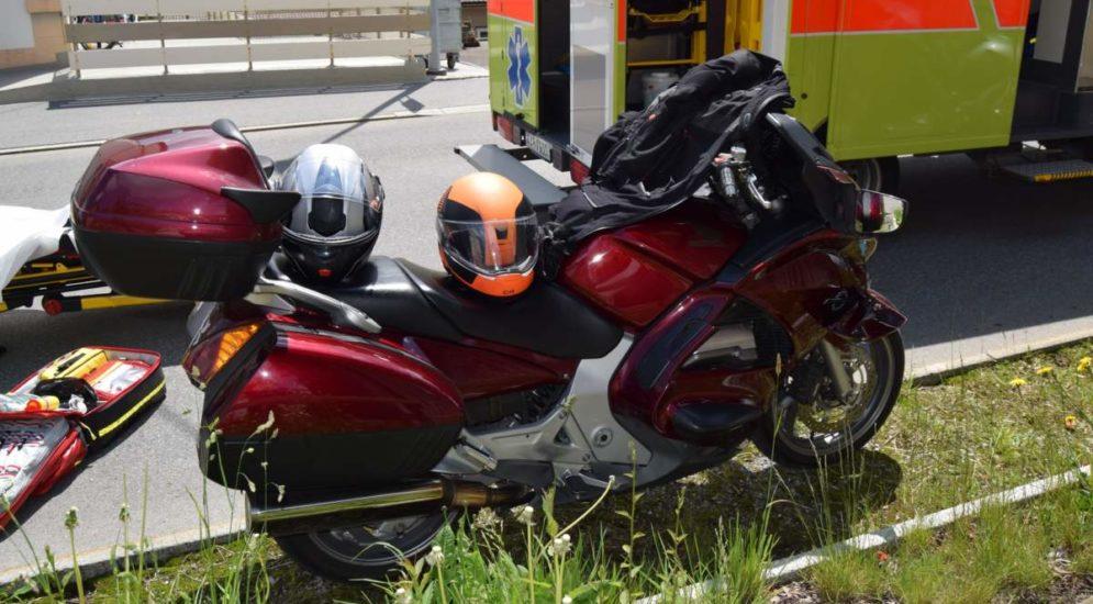 Urnäsch AR: Unfall zwischen zwei Motorrädern