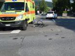 Heiden AR: Fahrradfahrer nach Unfall mit Personenwagen verletzt