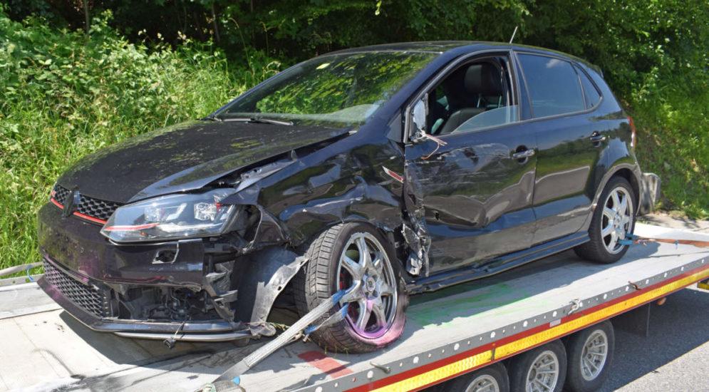 Hitzkirch LU: Zwei Personen bei Unfall verletzt