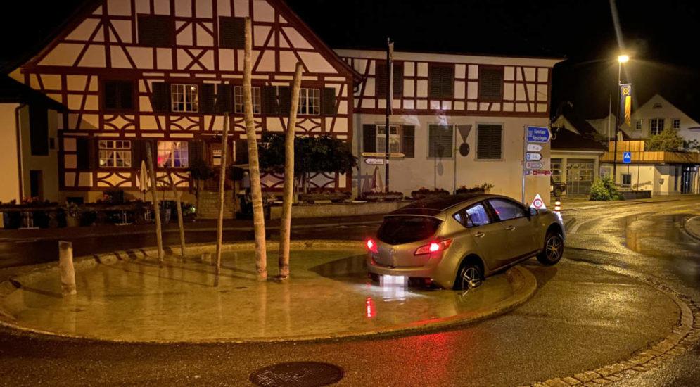 Unfall Steckborn TG: Alkohol am Steuer - Führerausweis weg