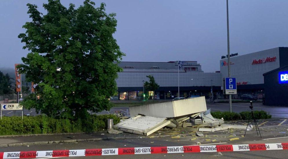 Winterthur ZH: Nach Geldautomaten-Sprengung auf der Flucht