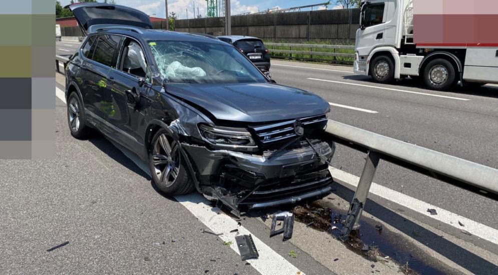 Neuenhof AG: Betrunken Unfall auf der A1 gebaut