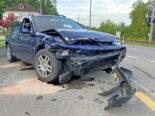 Kradolf TG - Alkoholisierter Lenker (19) bei Unfall von der Strasse abgekommen