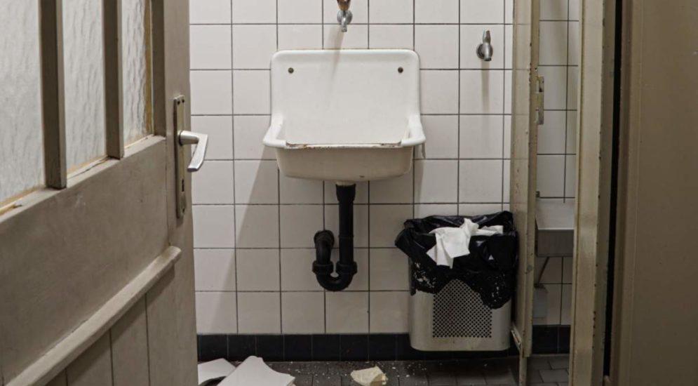 Altstätten SG: Zwei Unbekannte demolieren öffentliches WC