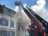 Bern: Brand an der Brückenstrasse