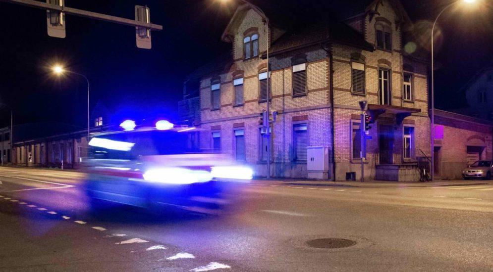 Nach Überholmanöver in Kaltbrunn SG - Bei Schlägerei schwer verletzt
