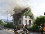 Rapperswil-Jona SG: Einfamilienhaus nach Brand nicht mehr bewohnbar