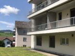 Küssnacht SZ: Brand in Mehrfamilienhaus