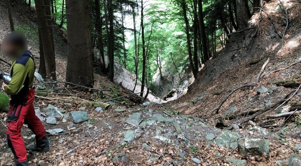 Chur GR: 20-Jähriger stürzt in steil abfallendes Tobel
