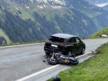 Unfälle Unterschächen UR: Zwei Motorradlenker ins Spital transportiert