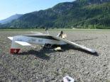 Bad Ragaz SG: Kleinflugzeug muss auf Feld notlanden