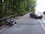 Sarnen OW: Motorradlenker bei Unfall erheblich verletzt