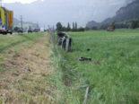 """Heiligkreuz SG - Wegen eines """"Bonbons"""": Unfall auf der Autobahn A3"""