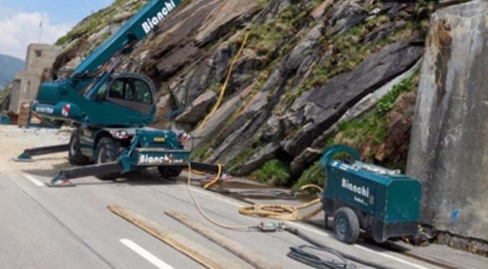 Lukmanierstrasse bleibt für jeglichen Verkehr gesperrt