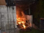 Oberuzwil: Elektrorasenmäher in Brand geraten: 25'000 Franken Sachschaden