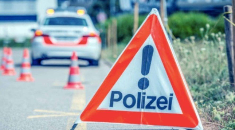 Leuggern AG: Ohne gültigen Führerausweis Unfall gebaut
