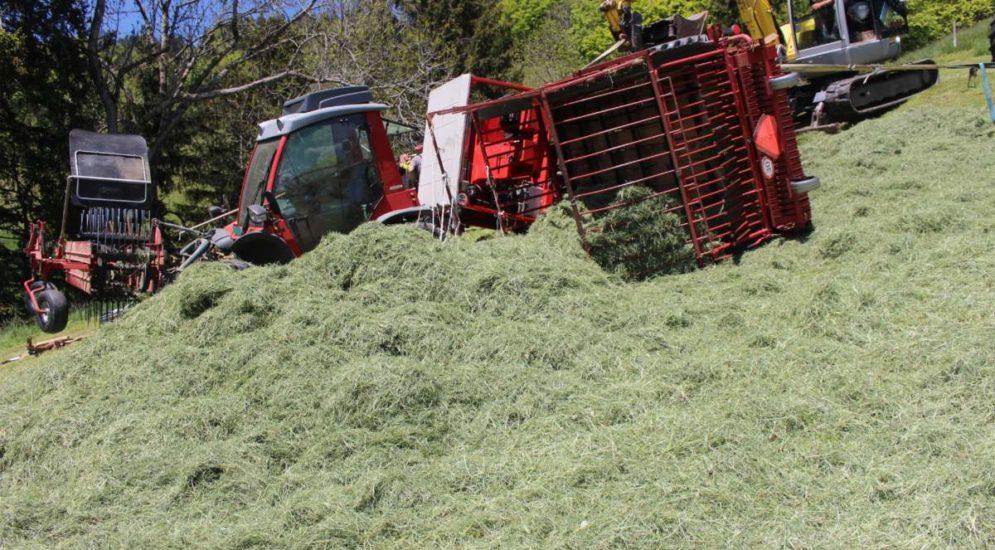 Gonten AI: 29-jähriger Landwirt bei Unfall verletzt