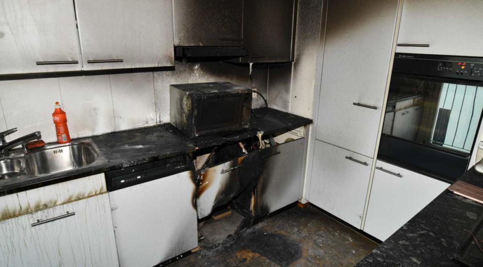 St.Gallen: Beträchtlicher Sachschaden nach Brand