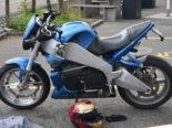 Unfall A1 St.Gallen SG: Motorradlenker (30) im Schoren-Tunnel Ost gegen Wand geprallt