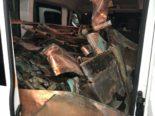 Tübach SG: Rumäne in Lieferwagen mit Deliktsgut gestoppt