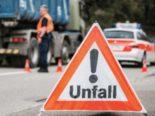 Neuhausen am Rheinfall SH: Unfall zwischen Kanalreinigungslastwagen und Auto