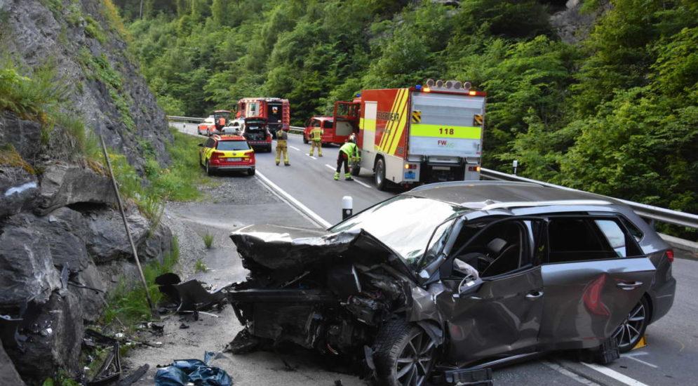 Grabs SG: Unfall fordert Schwerverletzten