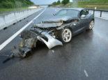 Knutwil LU: Starker Regen führt zu Unfall auf der A2