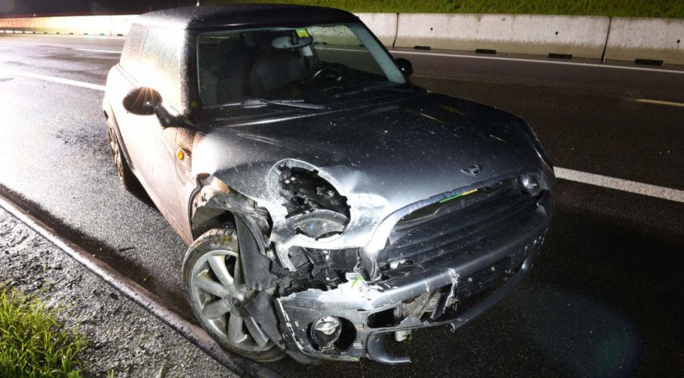 Uffikon LU: Unfall auf der Autobahn A2