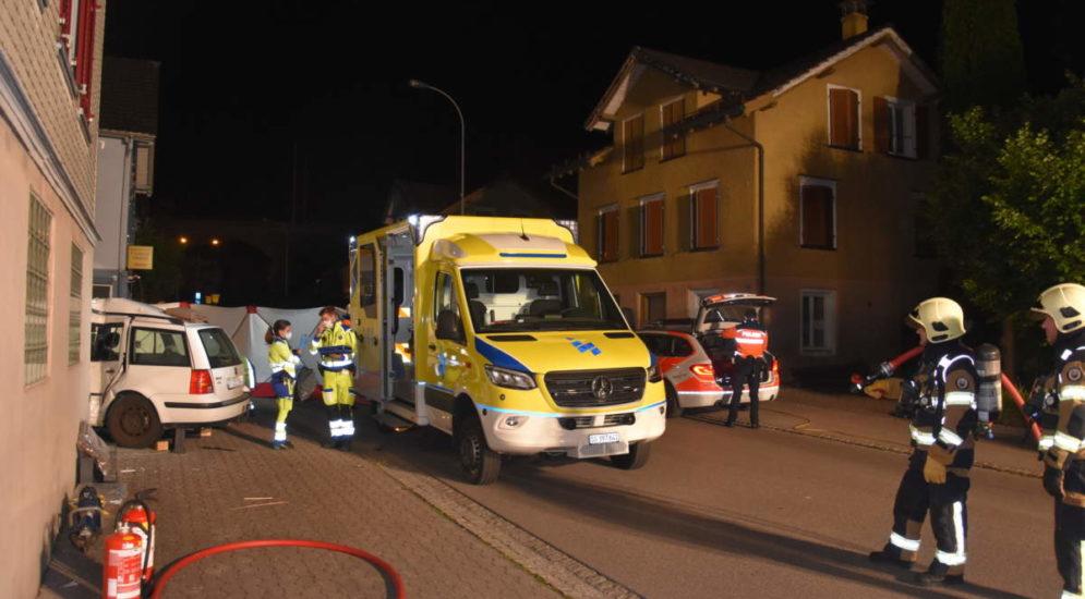 Unfall Uzwil SG: Verletzte, geflüchtete Person ausfindig gemacht